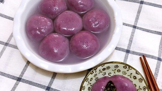 元宵节来了 紫薯汤圆怎么做 鲜肉汤圆园各大配方做法