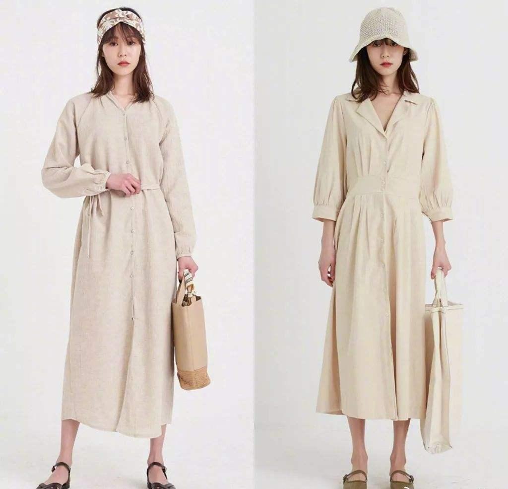 四五十岁的女人,春季穿衣素色搭配更显气质!