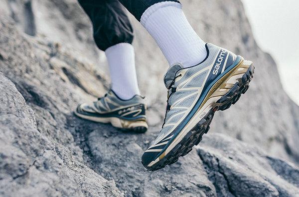 萨洛蒙 XT-6 全新「迷雾蓝」配色鞋款即将上市,冷峻岩石