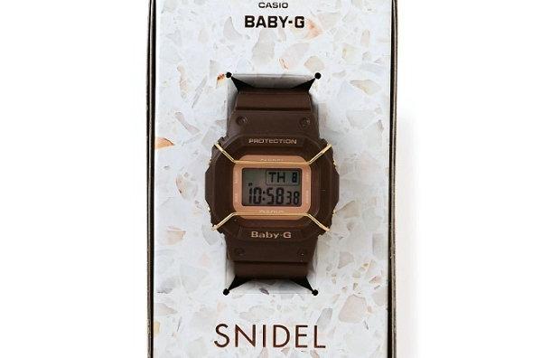 "BABY-G x SNIDEL 全新联名""BGD-501""表款亮相,合作第二弹"