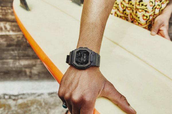 卡西欧全新 G-LIDE 系列腕表登陆,专为冲浪设计