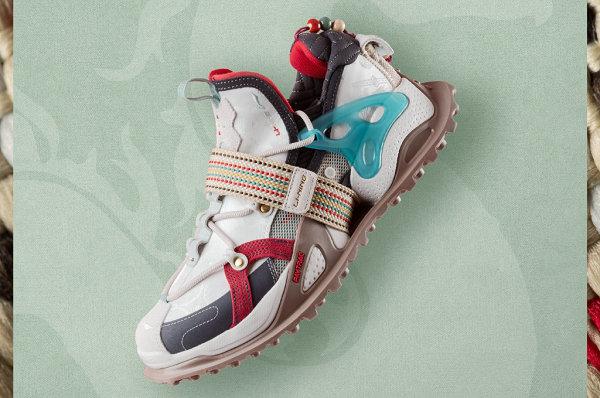 李宁盘古 HALO 端午限定版鞋款首次亮相,五彩绳灵感