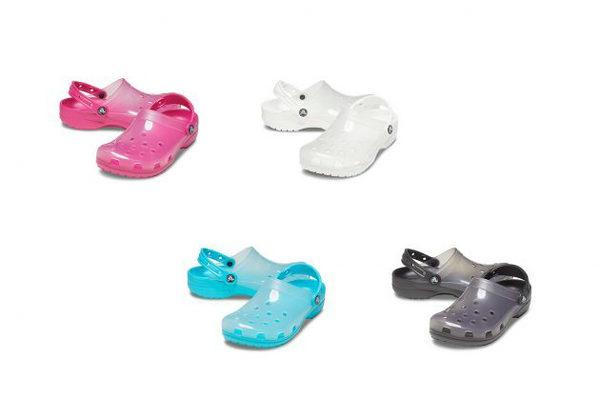 Crocs 全新 Translucent Collection 半透明系列登陆