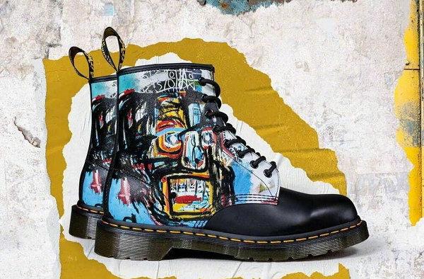 马汀博士 x Jean-Michel Basquiat 全新联名鞋款即将登场