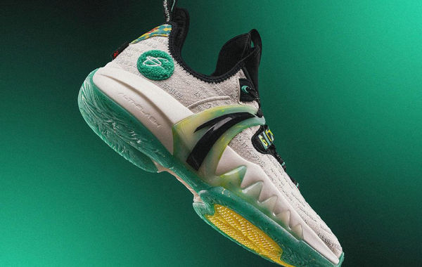 虎扑 x 安踏全新联名海沃德 GH2 鞋款上架发售