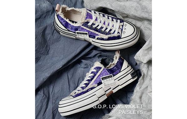 xVESSEL 全新紫色腰果花 G.O.P. Lows 鞋款开启预售