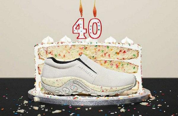 Merrell 迈乐 40 周年纪念鞋款系列明日发售,酷似生日蛋糕