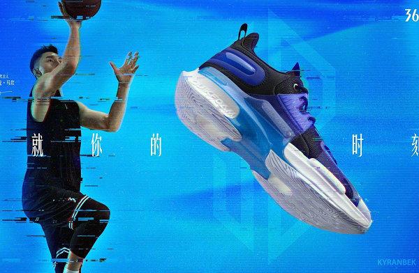 361° 全新可兰白克 2 代篮球鞋曝光,首发三色可选