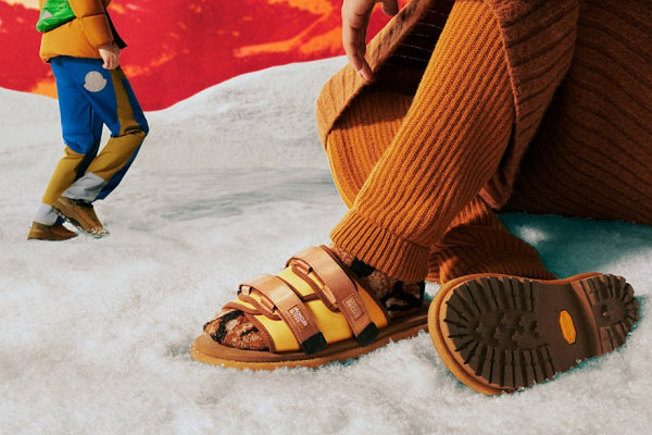 Suicoke x 蒙口全新联名鞋款即将上架,混搭配色