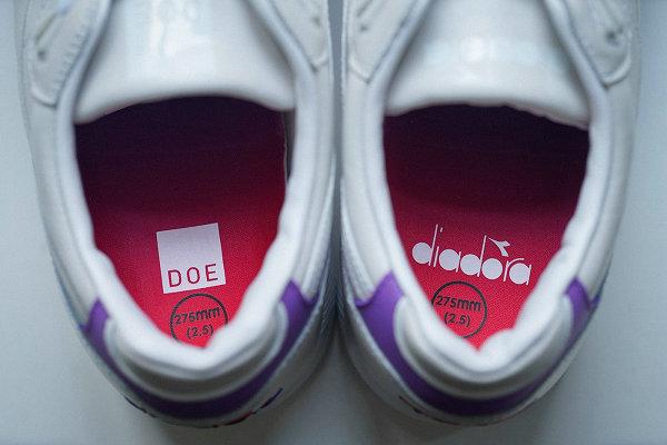Diadora x DOE 全新联名 N9000 鞋款即将登场