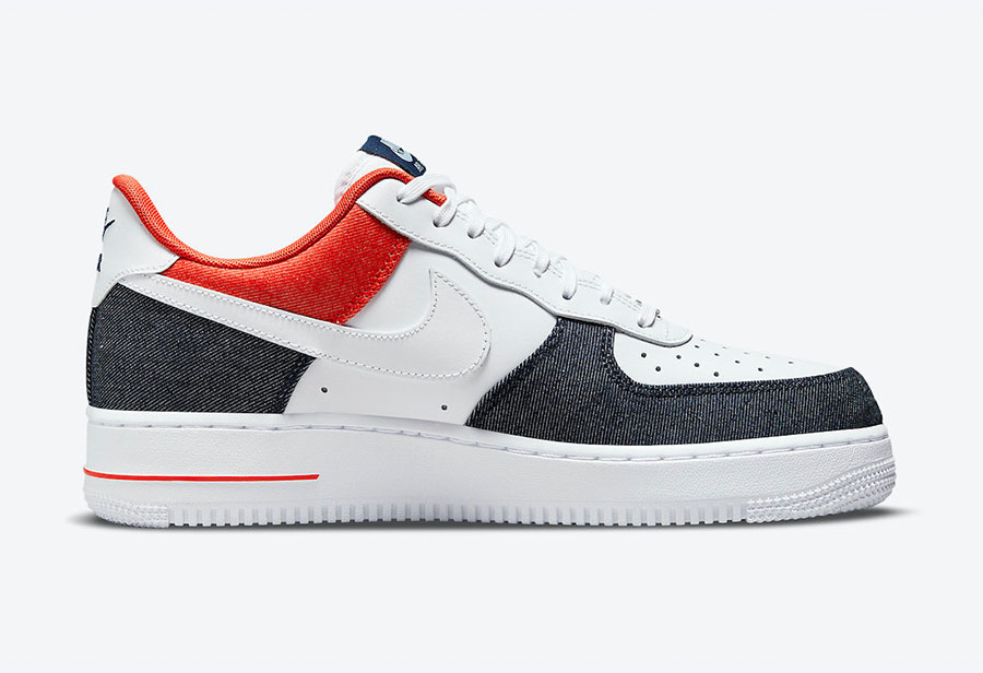 牛仔布质感十足!全新 Nike Air Force 1 即将发售!