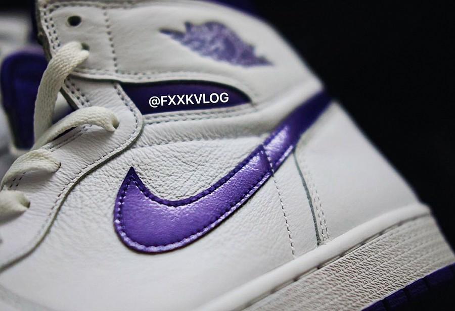 「恶人紫」回归!白紫 AJ1 实物曝光,发售信息有了!
