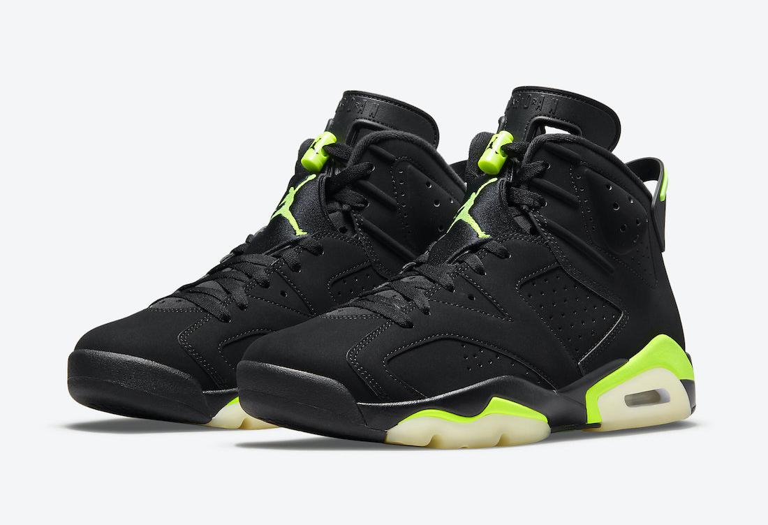 """小俄勒冈配色!全新 Air Jordan 6 """"Electric Green"""" 发售日期确定!"""