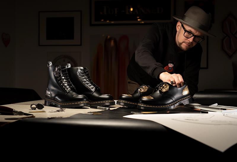 金属装饰太奢华!Dr. Martens 联名鞋想买的不只一双!